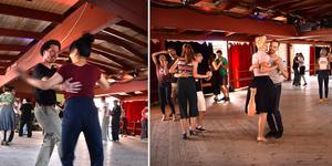 Vissa har tävlat ihop, andra är nybörjare och tar sina första swingsteg i lokalerna på Herräng Dance Camp, men alla är lika välkomna.