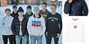 Kläder är vanligt stöldgods på Gylle skola. Niondeklassare har bland annat blivit av med jackor och tröjor.