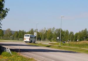 Barn och ungdomar mellan 7 och 19 år kan åka buss gratis inom Timrå kommun.