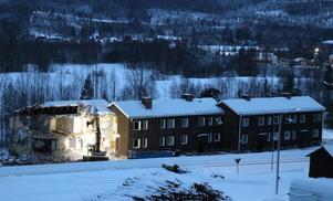 Motellet i Ljungaverk sett från E14.