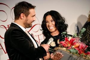 Magda Gad fick ta emot Stora Journalistpriset för Årets förnyare förra året. Foto: Christine Olsson / TT