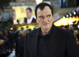 Den 56-årige Quentin Tarantino är aktuell med  Once Upon A Time in Hollywood. Foto: Joel C Ryan/Invision/AP