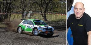Kenny Stavbom funderar om han vill satsa på någon av årets SM-tävlingar. Segern i Rally Gotland gav mersmak. Foto: Joakim Winberg / Kristina Laitinen