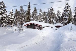 Fjösstigen 9 i Sälen. Foto: Fastighetsbyrån Sälen