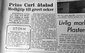 Norrtelje tidning 26 november 1957.