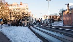 2019. Stora gatan ner mot centrum.