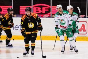 Emil Forslund och Kodie Curran möts i afton. Bild: Andreas L Eriksson / Bildbyrån