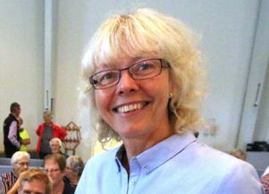 Åsa Andersson, medicine doktor och legitimerad sjukgymnast från geriatriska kliniken, USÖ föreläste om