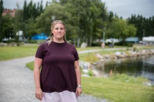 Sofia Nyberg lämnade in ett medborgarförslag i april om att förlänga promenadstråket i från hamnen bort mot Järved.