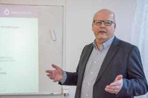 Lars-Erik Larsson Frengen är ekonomichef för Östersundshem.