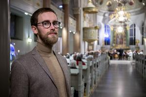 Organist Per Brudsten var nöjd med årets upplaga av kulturnatten.