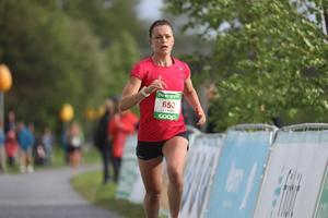 Längdåkaren Sofia Henriksson var drygt 40 sekunder ifrån segern.