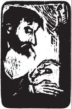 Stanislaw Przybyszewski var en skicklig pianist och Chopin-tolkare. Illustration: Kristoffer Nilsson