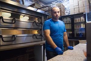 Ägaren Reder Ammo satsar bland annat på pizza.