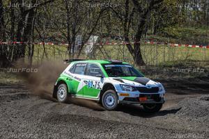 Kenny Stavbom körde hem Rally Gotland nyligen. Foto: Joakim Winberg