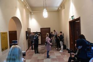 Idag inleds rättegången mot den så  kallade kulturprofilen i Stockholms tingsrätt. Foto: Fredrik Sandberg