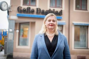 Anna Gullberg slutar som chefredaktör på Gefle Dagblad.