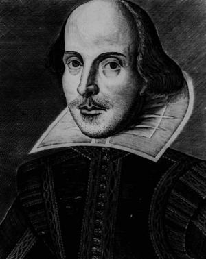 William Shakespeare, porträtt av okänd konstnär. Bildkälla: AP