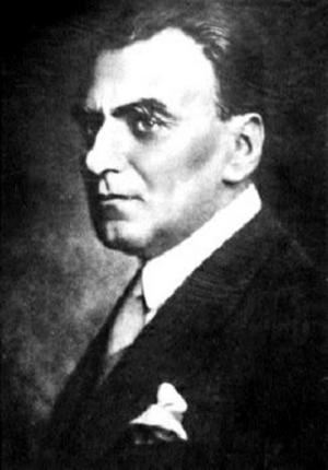 Den rumänske filosofen, matematikern och fascisten Nae Iounsco. Foto: Okänd