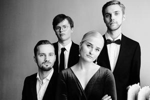 Det är med projektet Elsas Kapell som Lovisa Jennervall kommer till Härnösand, bandet spelar storbandsjazz i kvartettformat. Foto: Elvira Glänte