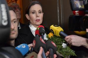 Svenska Akademiens ständiga sekreterare Sara Danius meddelade  i slutet av maj att hon lämnar Akademien. Foto: Jonas Ekströmer / TT