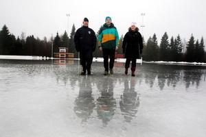 Det blir ingen konstfrusen is i Söderfors.