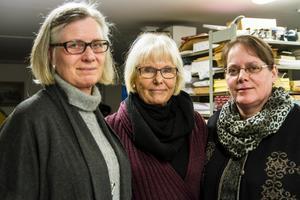 Marie-Louise Hellström, Bodil Eriksson och Marie Mill, Ljusdalsbygdens parti.