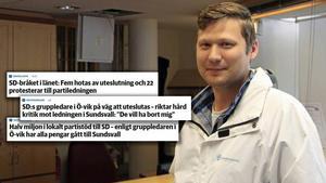 Martin Klausen vill inte svara på några följdfrågor. Arkivbild/montage.