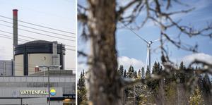 Kärnkraft är ett bättre alternativ än vindkraft menar skribenten.