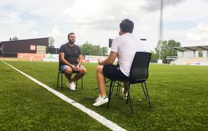 Foto: VLTVLT:s reporter Oliver Åbonde träffade VSK:s ordförande Andreas Dayan på Solid Park.