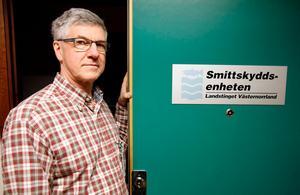 Hans Boman, smittskyddsläkare hos Landstinget Västernorrland, bedömer att spridningsrisken är liten.