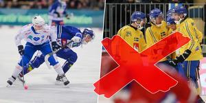 Robin Öhrlunds höftproblem får honom att avstå landslaget för tillfället.