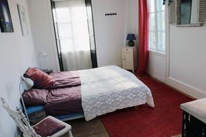 Sovrum för gäster.