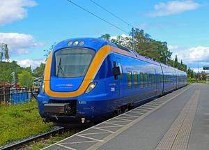 På den svenska sidan  är Mittbanan elektrifierad – men på den norska är den fortfarande inte det. Nu görs nya ansträngningar för att få till en elektrifiering.Foto: Tobias Flodin