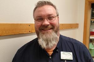 Magnus Lindeborg, butikschef på Coop Nära i Hassela.