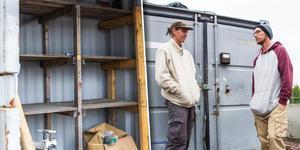 Skateparken har haft inbrott i en byggcontainer med verktyg. Totalt har de blivit av med grejer till ett värde av närmare 40 000 kronor. Bilden är ett montage.