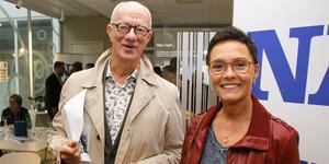 Revyprofilerna Peter Flack och Marie Kühler gästade NA.