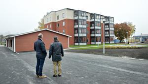 Krambos nybygge Monarken i Kramfors är besiktat och snart klart för inflyttning.