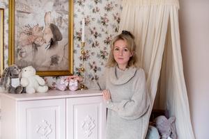– Jag är riktigt nöjd med barnrummet,  säger Amanda Todor.