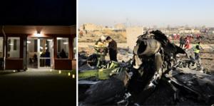 Den 8 januari omkom två elever som var gymnasiestudenter i Jönköping i en flygolycka i Iran. FOTO: Elin Elderud och Ebrahim Norooz/TT