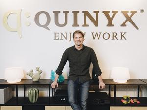 Erik Fjellborg, vd på Quinyx. Foto: Pressbild