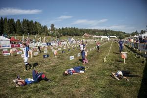 Etappen i Backsjö var den svåraste hittills enligt Martin Nilsson.
