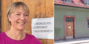 Ulla Eklöf agerar företagslots på näringslivskontoret.