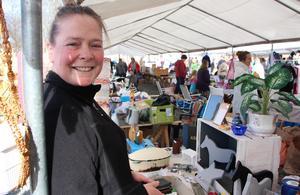 Sussie Lodén är en av dem som besöker Ludvika Loppmarknad på premiären på lördagen.