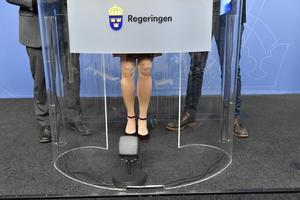 Hur mäter vi jämställdhet i politiken? Foto Anders Wiklund / TT