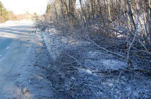 Sly på vägarna skapar mängder med problem den här snörika vintern.
