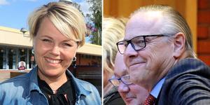 Linda Mattsson Bolin (VFÅ) och Anders Mjärdsjö (M) är överens om att dela på uppdraget som oppositionstråd i Ånge kommun fyra år framåt.