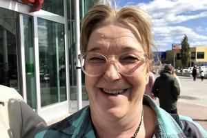 Annelie Hasselblad, 55, projektledare, Alnö: