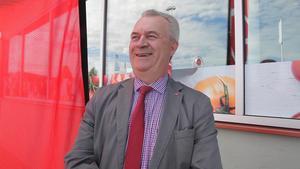 landsbygdsminister Sven-Erik Bucht (S) svarar på frågor om Härjedalen.