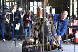 Pythagoras industrimuseum var en av stadspärlorna som de engelska pedagogerna fick lära känna.  I september är det de engelska elevernas tur att upptäcka Norrtälje.